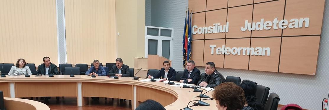 Ședința extraordinară a Comitetului Județean pentru Situații de Urgență Teleorman - 05 februarie 202