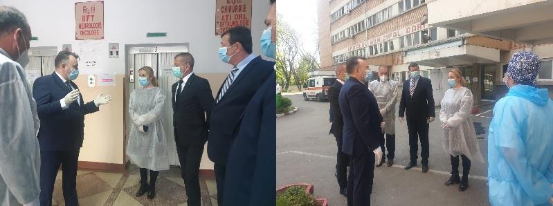 Vizită de lucru a Ministrului Sănătății, Nelu Tătaru – 22 aprilie 2020